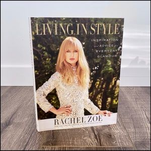 👗Living In Style Lge HB Book by Rachel Zoe -New👗